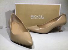 MICHAEL KORS Flex Kitten Pump Womens Size 5.5 Nude Heels Dress Shoes ZH-1729