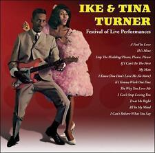 IKE & TINA TURNER -  Festival of Live Performances CD
