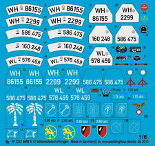 Peddinghaus 2247 1/6 BMW R-12 Motorradbeschrifttungen