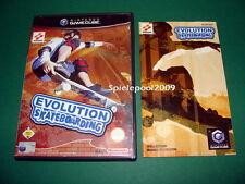 Evolution Skateboarding mit Anleitung und OVP fuer Nintendo GameCube komplett