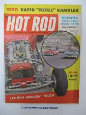 Hot Rod Magazine   August  1957   Rebel Rambler Breaks Ranks