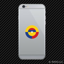 Colombian Air Force Roundel Cell Phone Sticker Mobile FAC Colombia COL CO