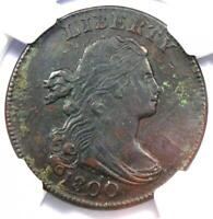 1800 Draped Bust Large Cent 1C S-211 - NGC AU Details - Rare Coin in AU!
