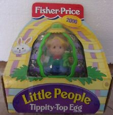 New Fisher Price 2000 Easter Collectible Tippety-Top Egg Eddie