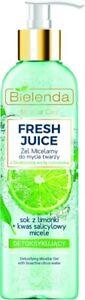 Bielenda Fresh Juice Detoxifying Face Cleansing Micellar Gel Lime Extract 190ml