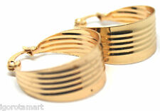 New Gold Plated Fashion Hoop Dangle Leaf Style Earrings Hook Round Circle Hoops