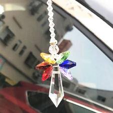 Fashion Crystal Rainbow Keychain Purse Bag Charm Pendent Key Chain Car Pendant