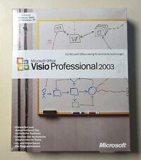 MS Visio 2003 Professional Vollversion deutsch inkl.2ter Installation D87-01705
