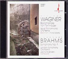 Jascha HORENSTEIN: BRAHMS Symphony No.1 WAGNER CHESKY Bacchnale Tannhäuser CD