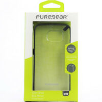New OEM PureGear Slim Shell Clear/Black Case For Samsung Galaxy S6 Edge
