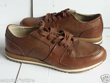 VINCE CAMUTO men size 8.5 brown leather casual shoes