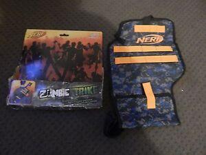 New NERF Zombie Strike BLASTER SLEEVE For Blaster ***DAMAGED PACKAGING***