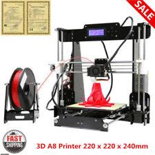 Anet A8 Imprimante Imprimante Reprap i3 3D Acrylique Prusa 1.75mm D'impression