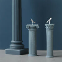 Roman Column Candle Mold DIY Candles Mould Plaster Handmade Making Supplies