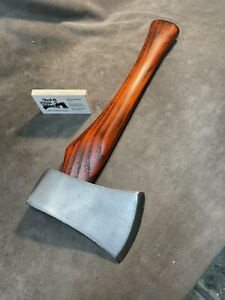 vintage single bit 2 1/4 lb axe hatchet hammer POLISHED custom JESSE REED handle