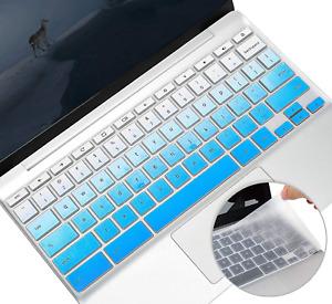 2 Pack Keyboard Cover Skin for HP Chromebook x360 11.6/14 inch, HP Chromebook 11