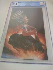 Patriotika 1 Cgc/CGC 9.2 Supergirl Homage.