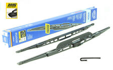 "Jeep Patriot 2008-on front windscreen wiper blades with spoiler 22"" 21"""