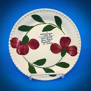 "Blue Ridge/Southern Potteries 6-1/8"" Bread & Butter Plate ROSEBUD"