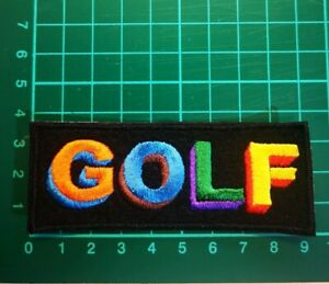 TYLER THE CREATOR GOLF IRON ON EMBROIDERED PATCH UK SELLER HIP HOP