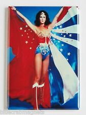 Wonder Woman FRIDGE MAGNET (2 x 3 inches) lynda carter tv show cape