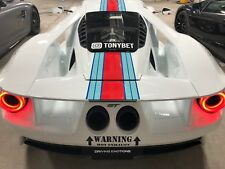 Martini Racing Stripes Car Decal Package