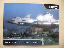 GERRY ANDERSON UFO CARDS INC PROMO CARD P2 SKYDIVER ED BISHOP GABRIELLE DRAKE