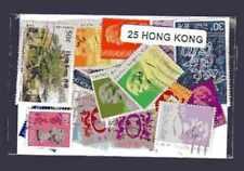 Hong Kong 25 timbres différents