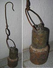 ANCIENNE LAMPE de MINEUR AVEC L'ÉTOILE DE DAVID