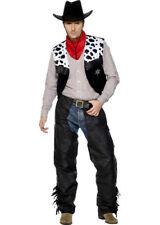 Adult Wild West Black Cowboy Costume