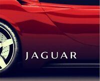 2x Seitenaufkleber Aufkleber Passt Jaguar New Shape Sticker Emblem Logo ER31