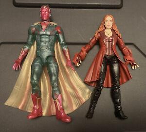 Marvel Legends SCARLET WITCH & VISION Avengers Infinity Civil War WandaVision