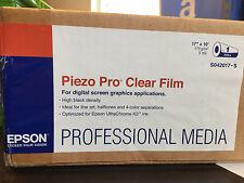 "Epson Piezo Pro Clear Film S042017-S Size: 17"" x 10' Roll"