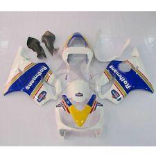 Verkleidung Lacksatz Weiß blau Fairing BodyWork Für Honda CBR600 F4I 2001-2003