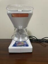 Used Little Snowie 2 Ice Shaver Machine Snow Cone Machine Commercial Blade