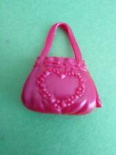 My Scene Barbie Bratz Doll Maroon Purse Handbag