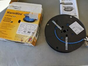 NEW SUNTOUCH 81014503 WARMWIRE ELECTRIC FLOOR HEATING WIRE 50 SQ.FT. 120V 480W