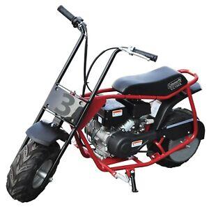 Coleman Powersports Four Stroke 100cc Gas Powered Trail Dirt Mini Bike Steel New
