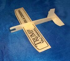 Trump Taj Mahal Casino Atlantic City Promotional Balsa Wood Glider Plane, Lot 10