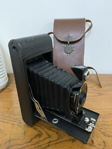 Vintage 1930's Eastman Kodak No 2A Folding Hawk-Eye Model B Camera
