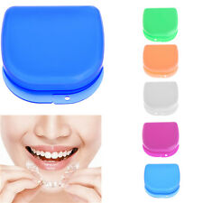 1 X Dental Mouthguard Case Box Teeth Brace Orthodontic Retainer Dentures Storage