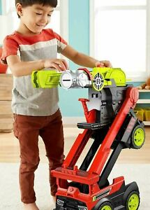 Fisher-Price Rescue Heroes Transforming Toy Fire Truck with Lights & Sounds GIFT