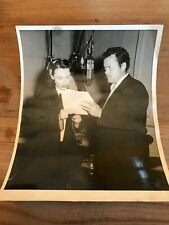 Orson Welles Vintage Photo Original Schwarz/Weiß