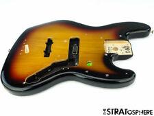 2017 Fender Deluxe Active JAZZ BASS BODY J Bass Guitar Parts 3 Color Sunburst