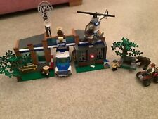 Lego City Forest Police Station Set 4440 Inc Rare Brown Bear Complete