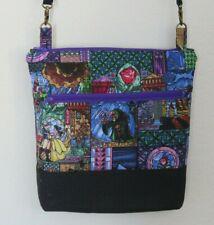 New ListingDisney Crossbody Beauty & the Beast Belle ~bag purse, adjustable strap, handmade