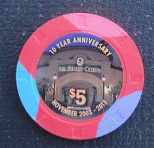Spa Resort & Casino ~ Palm Springs, CA ~ $5 Tenth Anniversary chip 2013