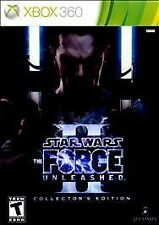 Star Wars: The Force Unleashed II Collector's Edition XBOX 360 Rare