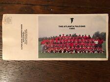 The Atlanta Falcons Vintage Football Team Photo 1979/80 Super Bowl CocaCola WPLO