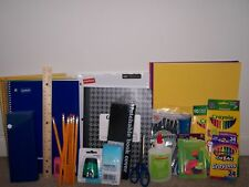 Back to School supplies lot
